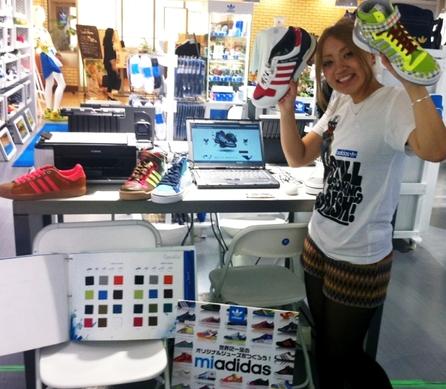 【なんばパークス】mi adidas開催のお知らせ!!