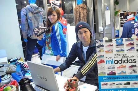 【マイスター神戸】いよいよmi  adidas開催!!