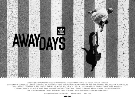 アディダス スケートボーディング「Away Days」日本全国9つのストアでプレミアイベント開催が決定。