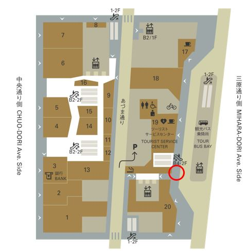 GINZA SIX配布場所.JPGのサムネイル画像